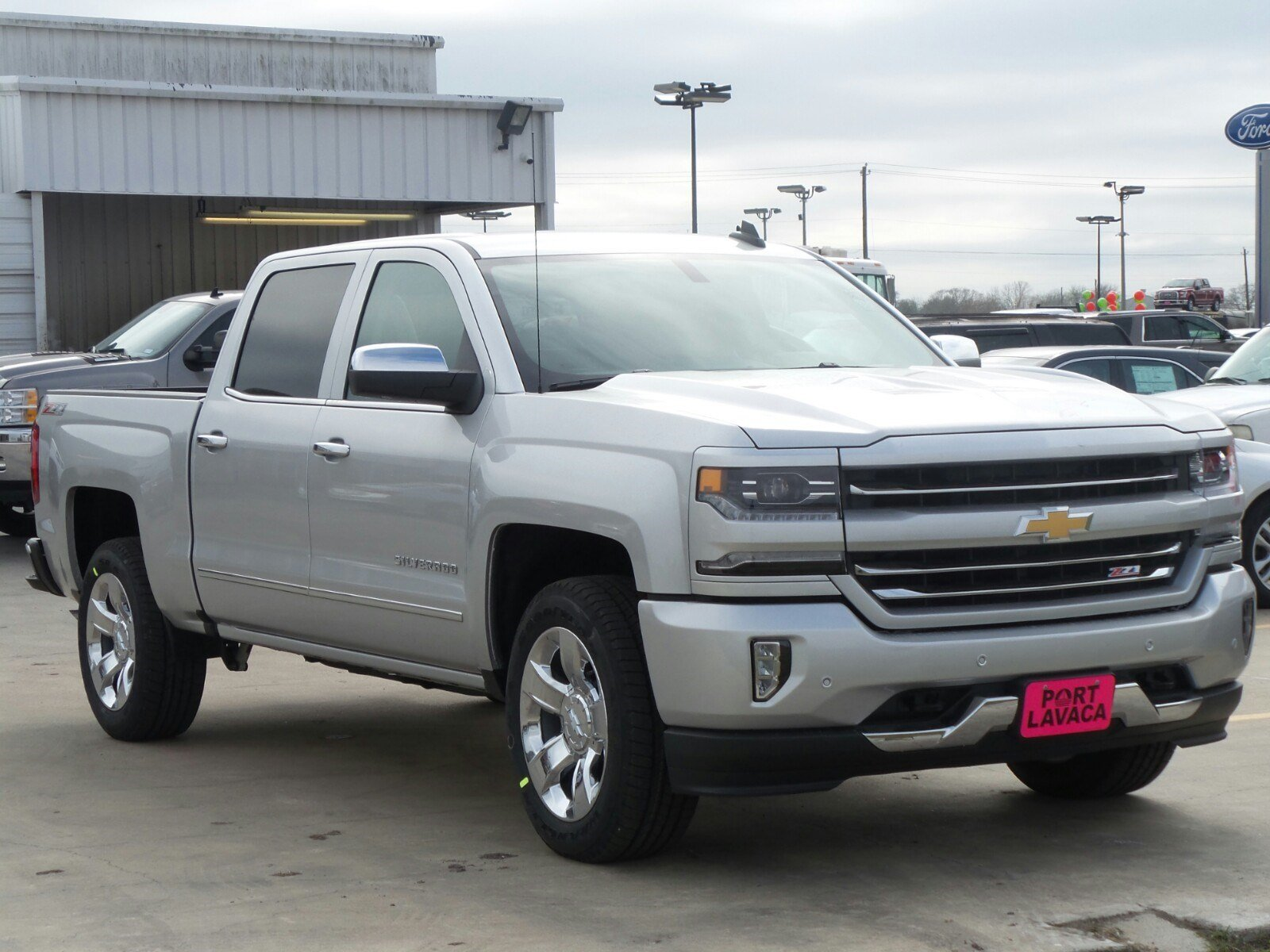new 2017 chevrolet silverado 1500 ltz crew cab pickup in port lavaca g287918 port lavaca. Black Bedroom Furniture Sets. Home Design Ideas